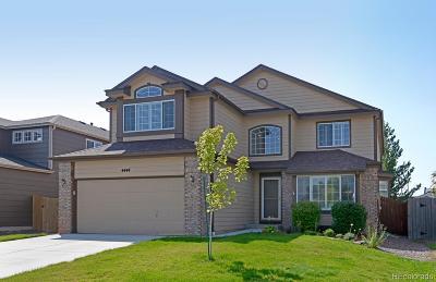 Castle Rock Single Family Home Active: 4444 Decatur Avenue