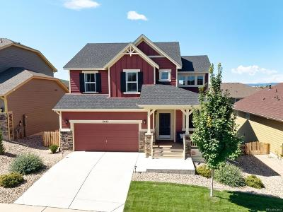 Castle Rock Single Family Home Active: 3077 Dragonfly Court