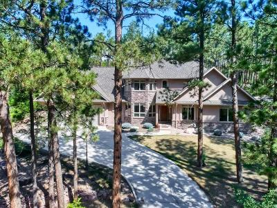 Monument Single Family Home Under Contract: 17350 Caribou Drive