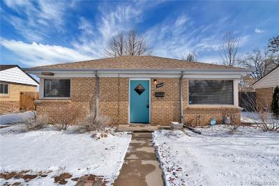Denver Single Family Home Active: 2840 Pontiac Street