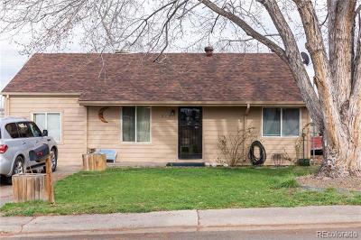 Denver Single Family Home Active: 712 South Mariposa Way