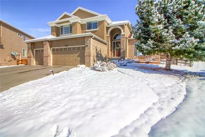 Castle Pines Single Family Home Active: 6555 Tapadero Court