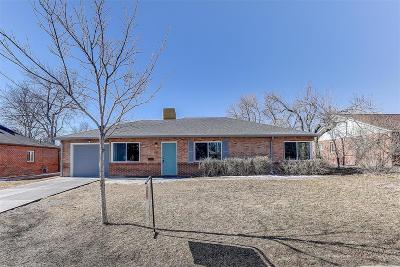 Aurora Single Family Home Under Contract: 861 Tucson Street