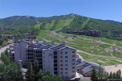 Steamboat Springs Condo/Townhouse Active: 1855 Ski Time Square Drive #406A