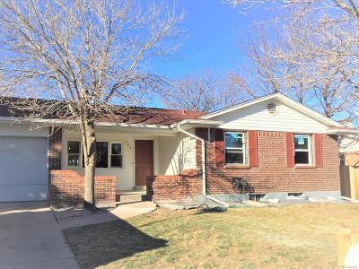 Aurora Single Family Home Under Contract: 669 Jasper Street