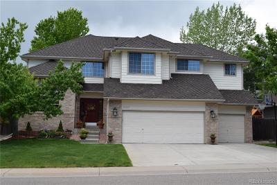 Lone Tree Single Family Home Active: 9167 Seven Arrows Trail