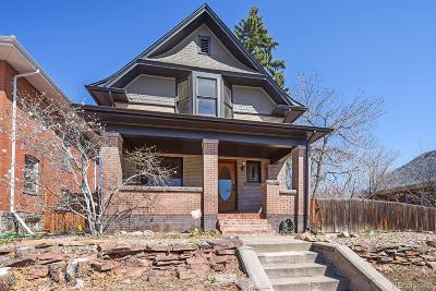 Denver Single Family Home Active: 3459 West 29th Avenue