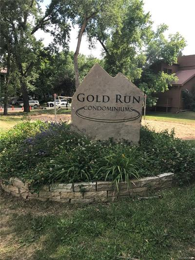 Boulder Condo/Townhouse Under Contract: 2900 Shadow Creek Drive #101