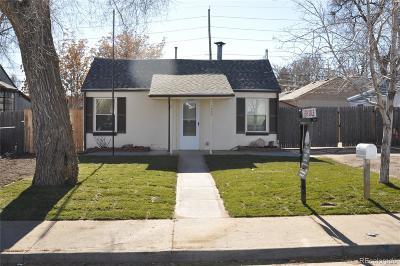 Denver Single Family Home Active: 1240 West Virginia Avenue