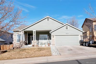 Castle Rock Single Family Home Under Contract: 2017 Shiloh Drive