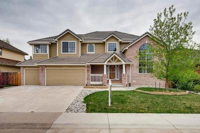 Lone Tree Single Family Home Under Contract: 7887 Sweet Water Road