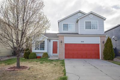 Colorado Springs Single Family Home Active: 4350 Gunbarrel Drive