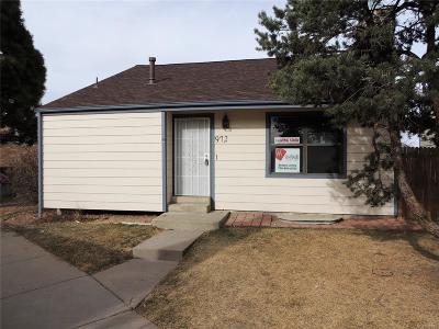 Arapahoe County Single Family Home Active: 972 South Zeno Way