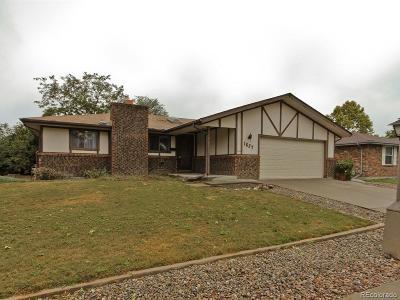 Longmont Single Family Home Under Contract: 1627 Vivian Street