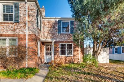 Denver Condo/Townhouse Active: 1230 Leyden Street