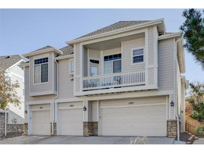 Highlands Ranch Condo/Townhouse Under Contract: 1295 Carlyle Park Circle