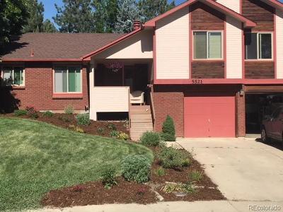 Boulder Single Family Home Active: 5521 Crestone Circle
