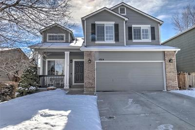 Highlands Ranch Single Family Home Under Contract: 4914 Apollo Bay Drive