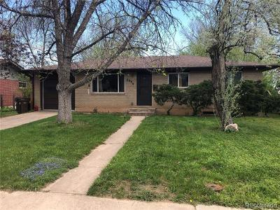 Boulder Single Family Home Active: 2996 24th Street