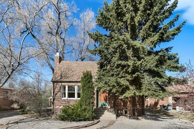 Wheat Ridge Single Family Home Under Contract: 3905 Eaton Street