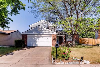 Centennial Single Family Home Under Contract: 17443 East Prentice Circle