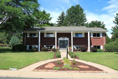 Littleton Single Family Home Under Contract: 7091 South Windsor Street