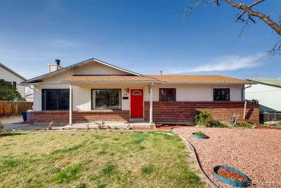 Denver Single Family Home Active: 2181 East 84th Avenue