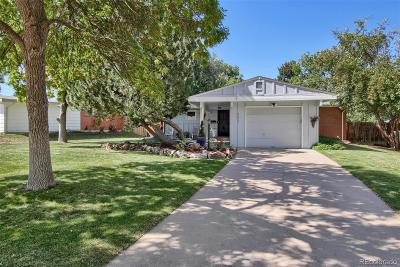 Littleton Single Family Home Active: 5675 West Chestnut Avenue