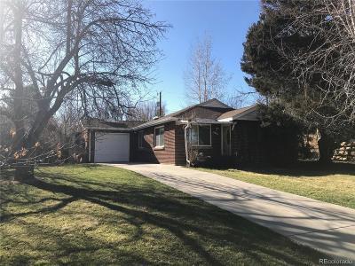 Lakewood CO Single Family Home Active: $335,000
