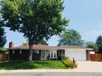 Littleton Single Family Home Under Contract: 4582 South Robb Street