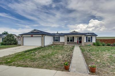 Kiowa CO Single Family Home Under Contract: $310,000