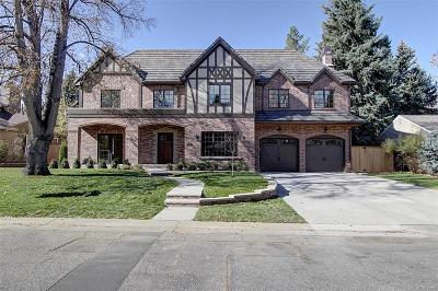 Denver Single Family Home Under Contract: 475 Krameria Street