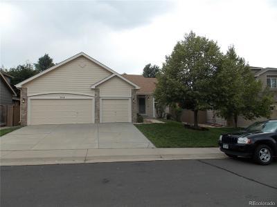 Castle Rock Single Family Home Under Contract: 5014 Stonecrop Circle