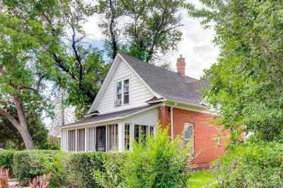 Aurora Single Family Home Active: 1575 Clinton Street