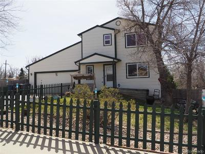 Aurora Single Family Home Under Contract: 14608 East 24th Avenue