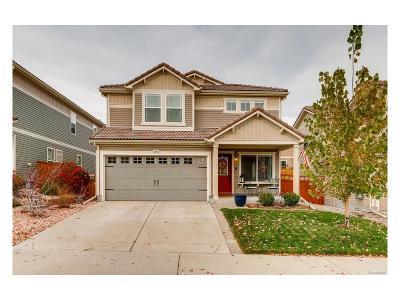 Castle Rock Single Family Home Under Contract: 2351 Quartz Street