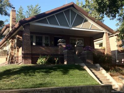 Denver Single Family Home Under Contract: 4745 West Hayward Place