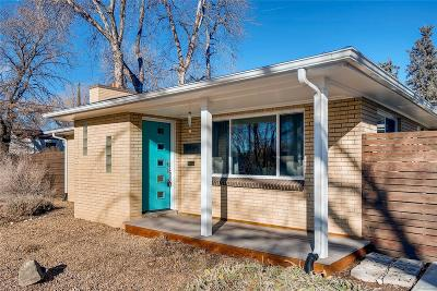 Wheat Ridge Single Family Home Under Contract: 6595 West 26th Avenue