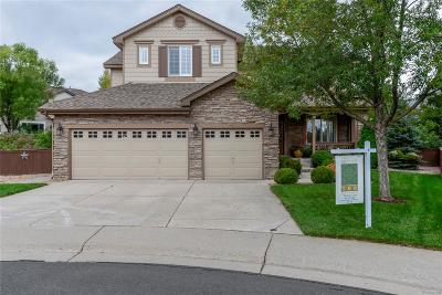Littleton Single Family Home Under Contract: 9695 South Estes Way