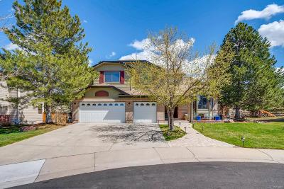 Highlands Ranch CO Single Family Home Under Contract: $750,000