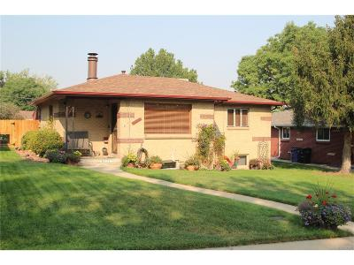 Denver Single Family Home Under Contract: 5177 Meade Street