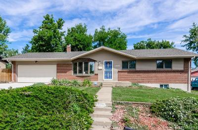 Lakewood CO Single Family Home Active: $449,900