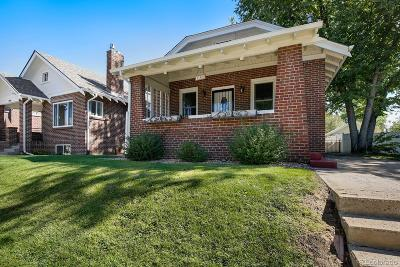 Denver Single Family Home Active: 750 South Grant Street