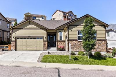 Castle Rock Single Family Home Active: 2465 McCracken Lane