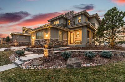 Highlands Ranch Single Family Home Under Contract: 10721 Skydance Drive