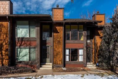 Aurora Condo/Townhouse Under Contract: 1329 South Dillon Way