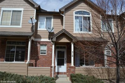Superior Condo/Townhouse Under Contract: 2855 Rock Creek Circle #318