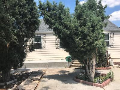 Denver Single Family Home Active: 3843 West Kentucky Avenue