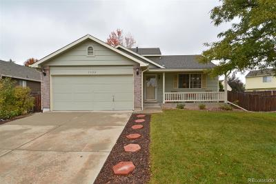 Longmont Single Family Home Under Contract: 1022 Woodside Road
