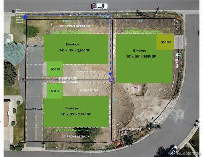 Denver Residential Lots & Land Active: 6535 East Alaska Drive